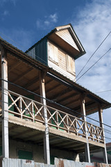Traditionelles Holzhaus, Jacmel, Haiti