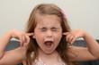 Leinwanddruck Bild - Screaming child