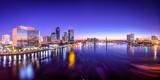 Fototapety Jacksonville, Florida, USA City Skyline on St. Johns River