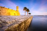 St. Augustine, Florida, USA at Castillo de San Marcos Monument