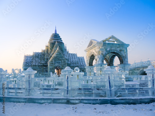 Foto op Canvas China Ice sculptures