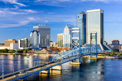 Jacksonville, Florida, USA City Skyline Photo by SeanPavonePhoto