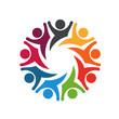 Happy Team group people 8 image logo - 75862554