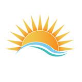 Fototapety Sunshine with waves