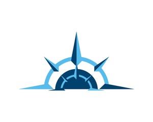 compass logo template v.4