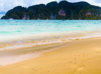 Low Season Resort Choppy Sea