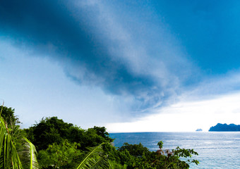 Low Season Cloudy Seascape