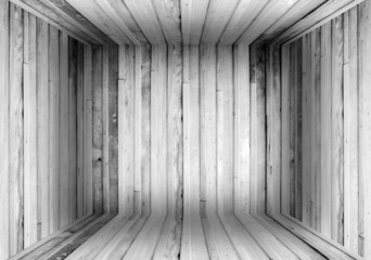 Old Wood Box Background