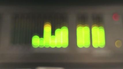 audio levels measure motion blure
