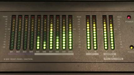 audio levels measure motion