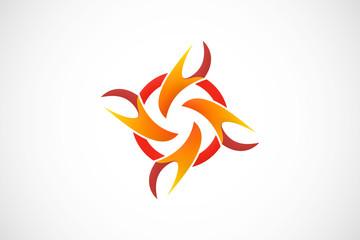 circle fire logo