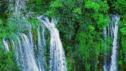 Top of the Manojlovac waterfall at Krka river