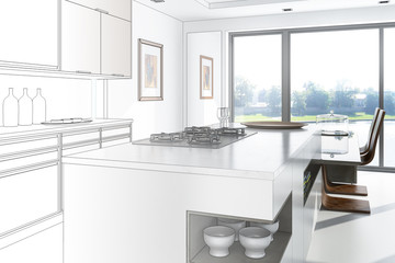 Sleek Kitchen (construction)