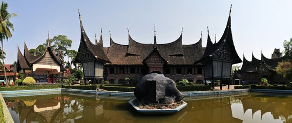 Traditional house on