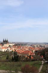Landscape of St. Vitus Cathedral