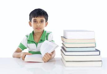 Indian School Boy