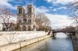 Notre Dame de Paris, France. - 75870979
