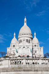 Sacre-Coeur Basilica in Paris, France.