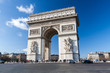 Arc de Triomphe in Paris, France - 75871712