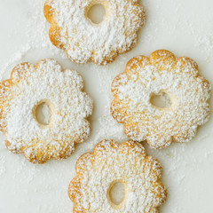 canestrelli, traditional Italian cookies