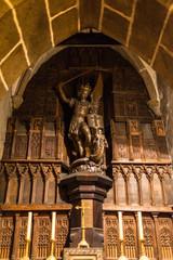 モン・サン・ミッシェル サン・ピエール教会 聖ミカエル像