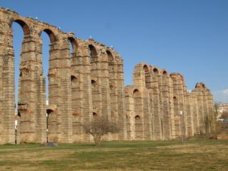 Acueducto romano en Mérida 4