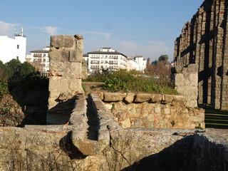 Acueducto romano en Mérida 10