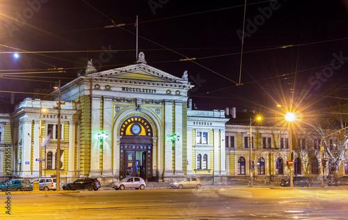 Belgrade Main Railway Station at night - Serbia - 75876555