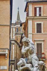 Fontana dei Quattro Fiumi a Piazza Navona, Roma