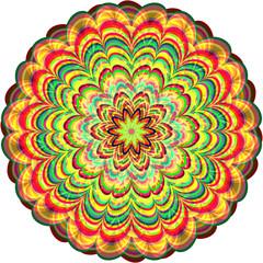 Abstract circle. Raster 4