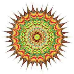 Abstract circle. Raster 5