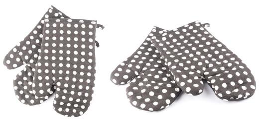 kitchen gloves isolated