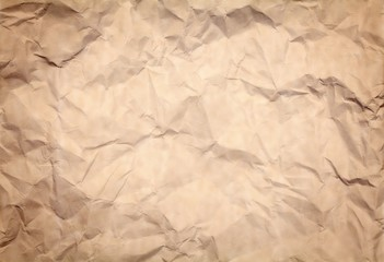 Creased Paper Background
