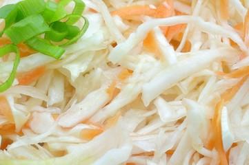 Krautsalat mit Beilagen