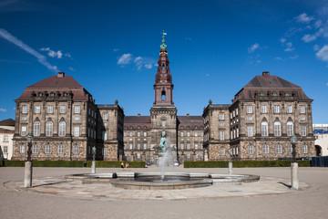 Christiansborg Palace, Copenhagen.