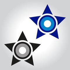 evil eye star logo