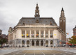 Leinwanddruck Bild - Charleroi city hall . Belgium