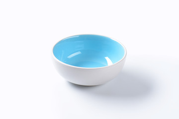 Empty ceramic bowl