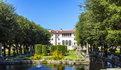 Vizcaya Museum and Garden in Miami, Florida