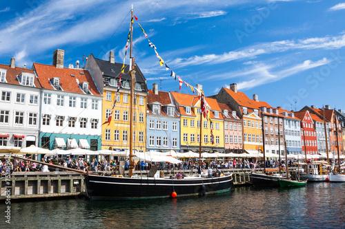 Poster Nyhavn in Copenhagen, Denmark
