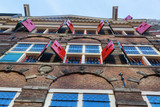 Fassade des Rembrandt-Hauses in Amsterdam