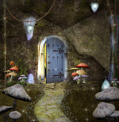 Dwarf's secret house