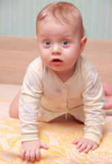 baby with big blue eyes