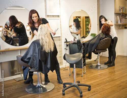 mata magnetyczna Sytuacja włosów Salon