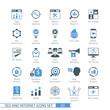 Zdjęcia na płótnie, fototapety, obrazy : SEO icons set 03