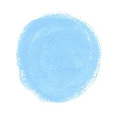 Cyan acrylic paint vector circle