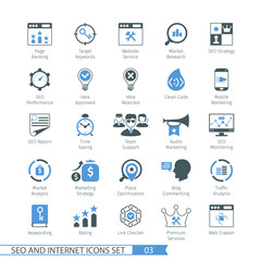 SEO icons set 03