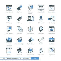 SEO icons set 01