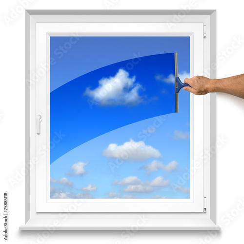 canvas print picture Fenster 4