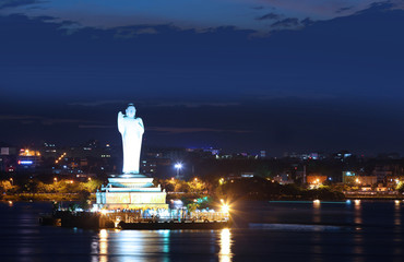 Buddha statue of Hyderabad